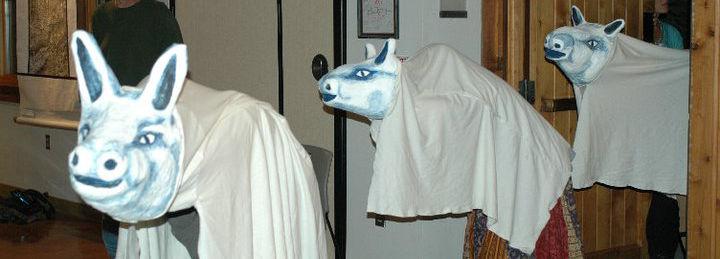 Kate Rinzler Deer Puppets